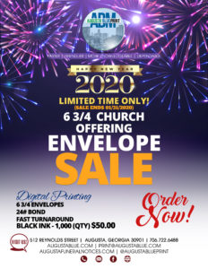 ABM Offering Envelope Sale - Flyer3